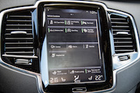 Volvo XC90 R-Design ipad tablet