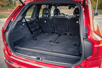 Volvo XC90 R-Design trunk space cargo room