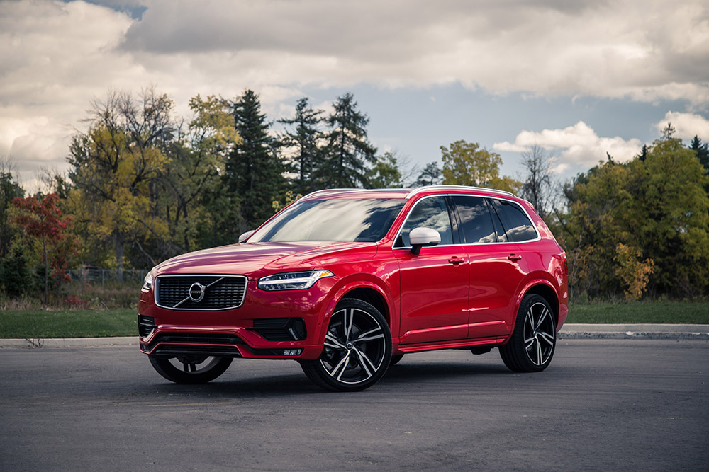 Volvo XC90 R-Design passion red