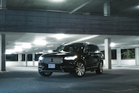 Volvo XC90 T8 PHEV Plug-in night shot