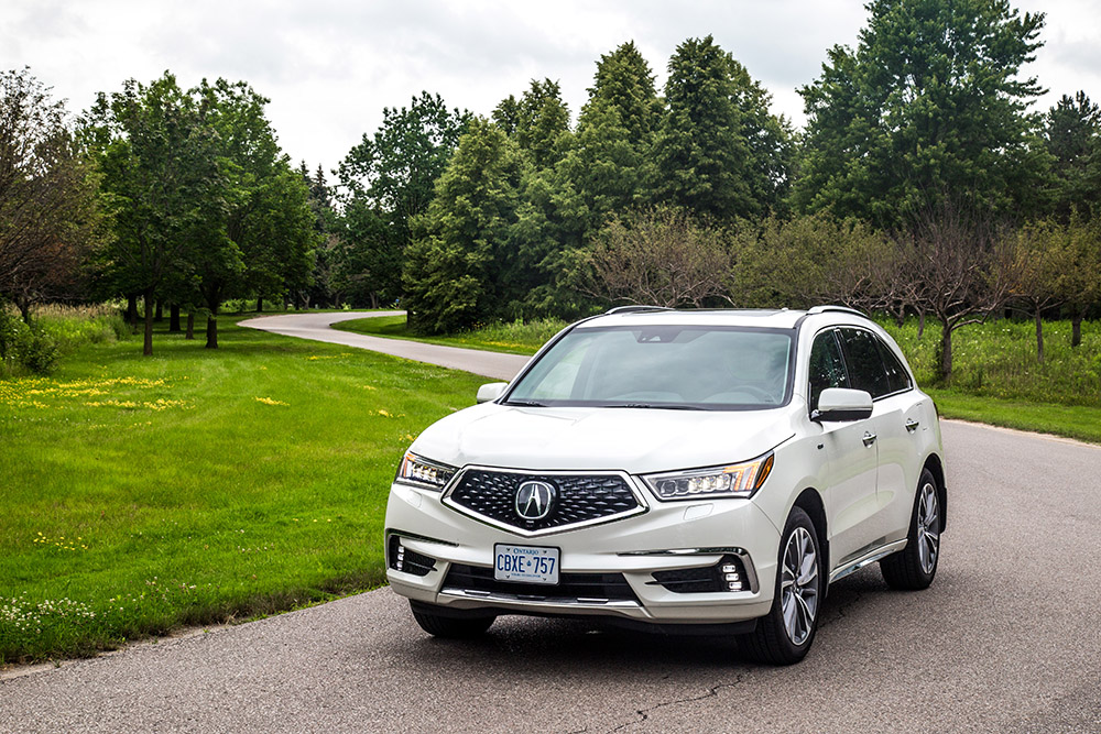 2017 Acura MDX Sport Hybrid canada review