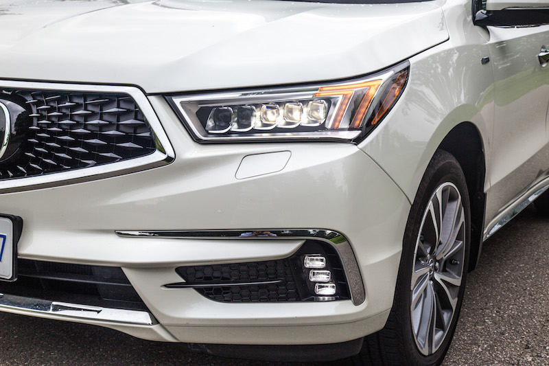 2017 Acura MDX Sport Hybrid new front grill