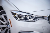 2017 BMW 330e headlights
