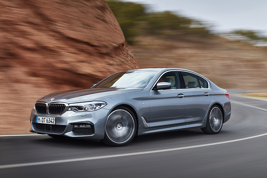 new 2017 bmw 5 series sedan canada