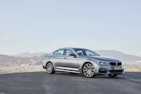2017 BMW 540i xDrive front view