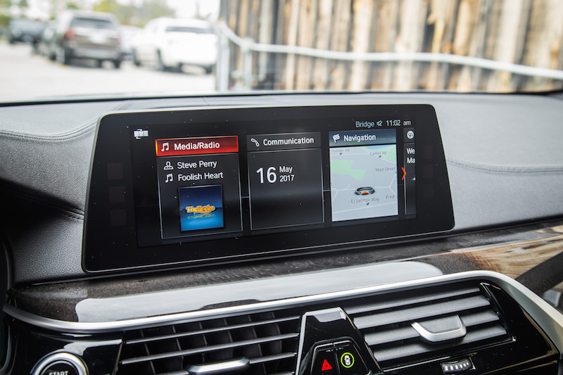 2017 BMW 540i xDrive new idrive display touch screen