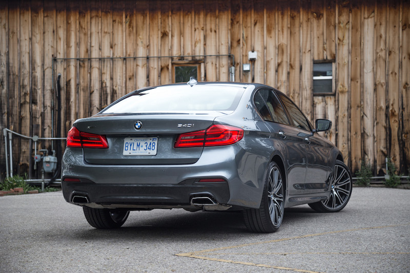2017 BMW 540i xDrive m sport package