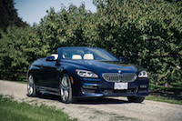 2017 BMW 650i xDrive Cabriolet winery vineyards