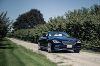 2017 BMW 650i xDrive Cabriolet front view blue