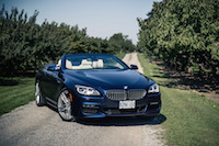 2017 BMW 650i xDrive Cabriolet tanzanite blue paint