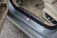 2017 BMW 740Le xDrive m sport badge door sill