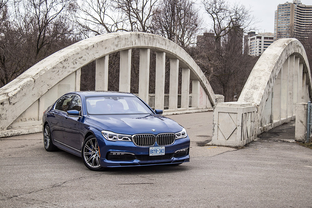 2017 BMW Alpina B7 xDrive new for canada review