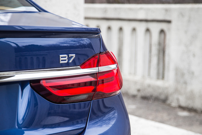 alpina b7 badge