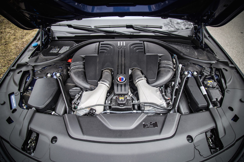 2017 BMW Alpina B7 xDrive biturbo engine v8