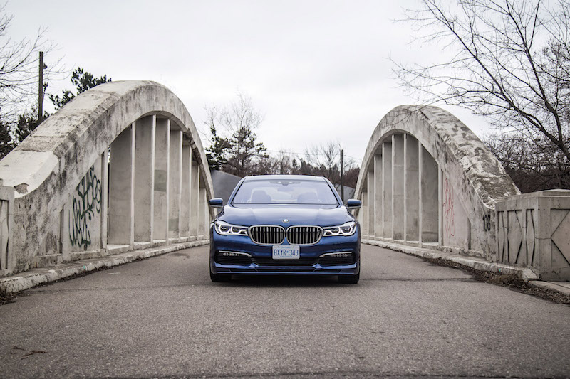 2017 BMW Alpina B7 xDrive front view