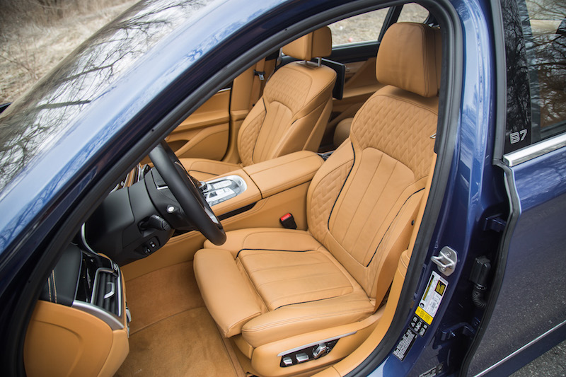 alpina b7 caramel full merino leather seats