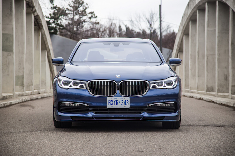 2017 BMW Alpina B7 xDrive headlights grill
