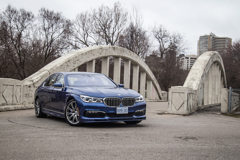 2017 BMW Alpina B7 xDrive bridge