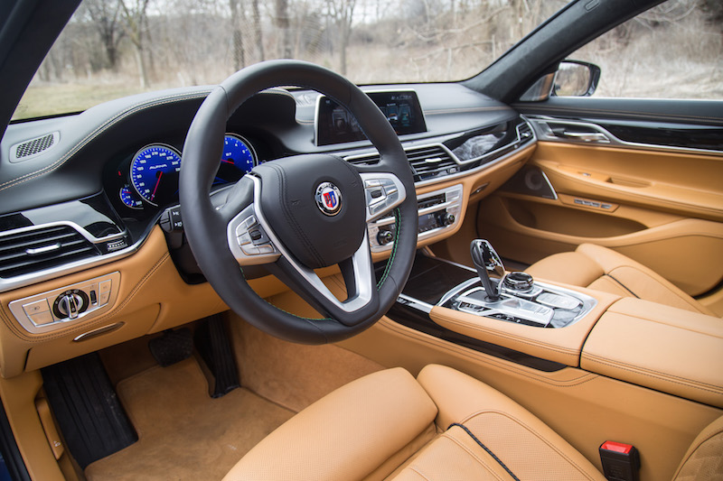 2017 BMW Alpina B7 xDrive interior caramel