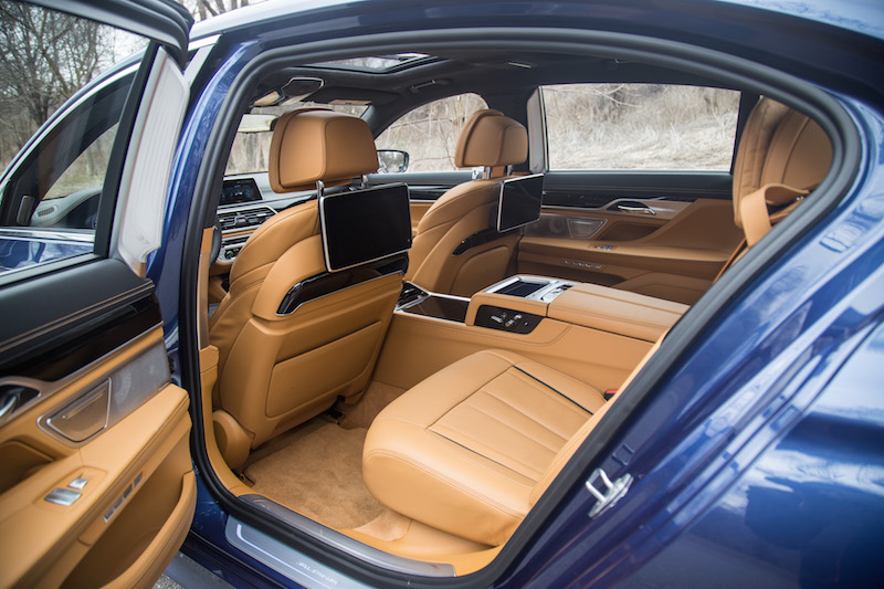 alpina b7 caramel executive lounge rear seats