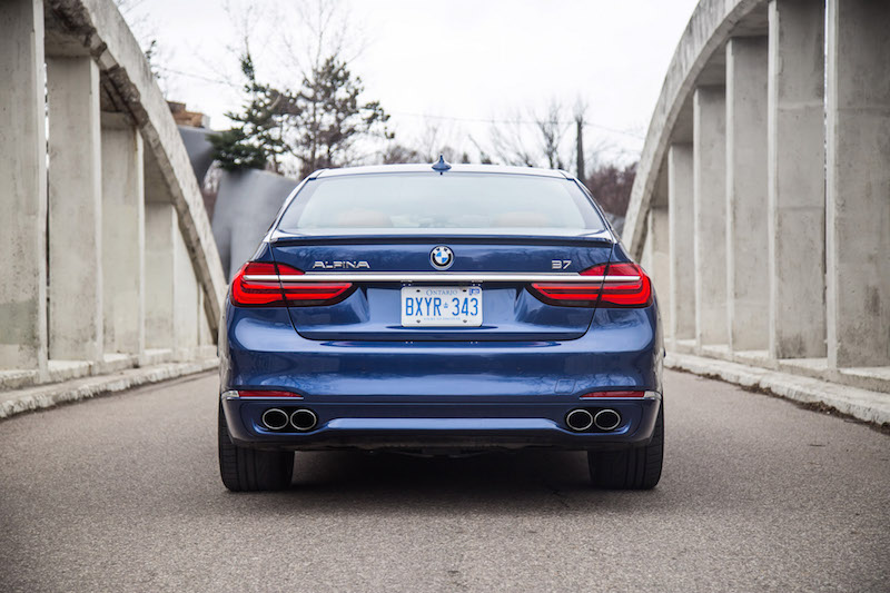 2017 BMW Alpina B7 xDrive exhaust