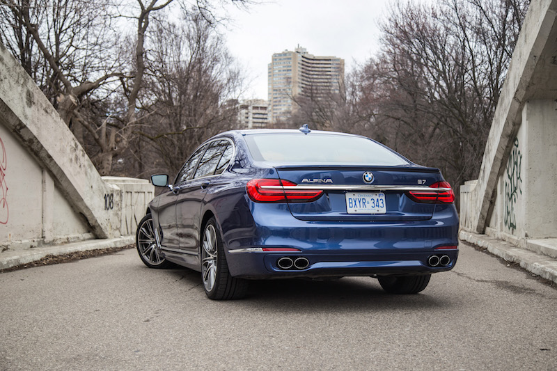 2017 BMW Alpina B7 xDrive rear wallpaper