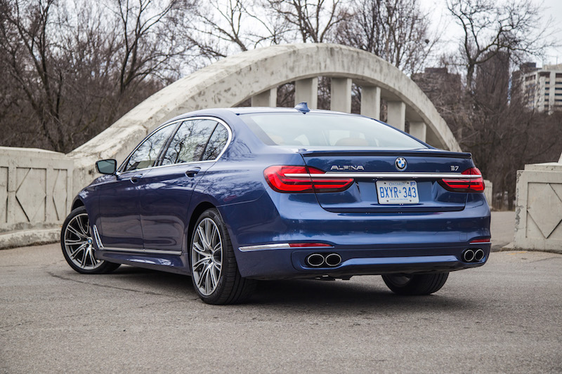 2017 BMW Alpina B7 xDrive quad exhaust tips