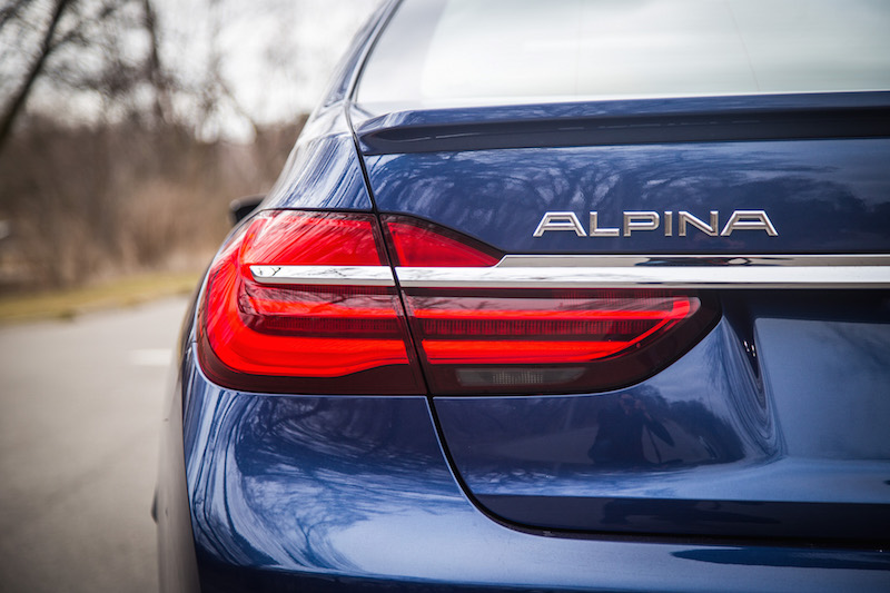 2017 BMW Alpina B7 xDrive rear tail lights