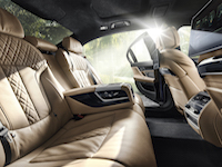 new alpina b7 rear seats