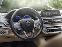 2017 alpina b7 steering wheel