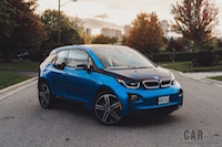 2017 BMW i3 protonic blue