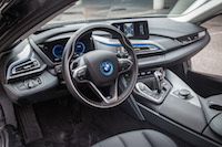 2017 BMW i8 carpo dark black interior leather