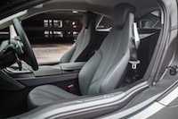 2017 BMW i8 front seats carpo