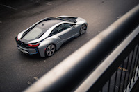 2017 BMW i8 ionic silver paint
