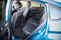 2017 BMW X4 M40i rear seats