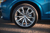 2017 BMW X4 M40i wheels tires rims