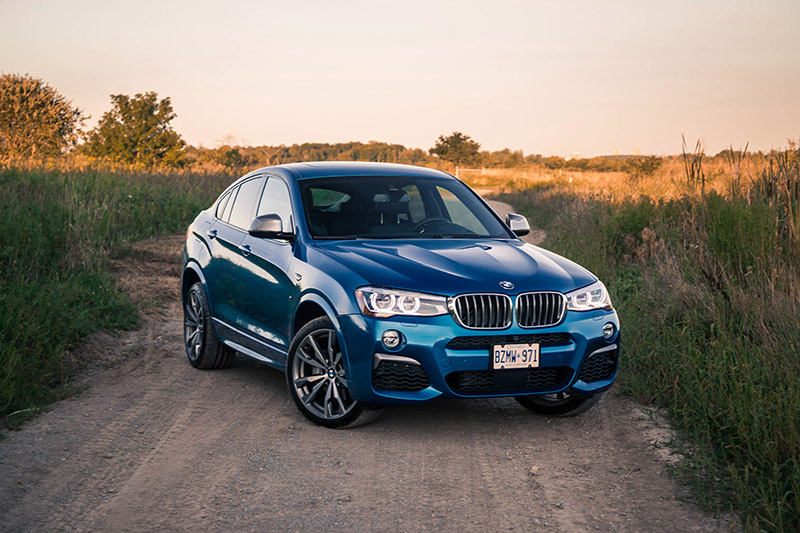 2017 BMW X4 M40i canada new review