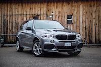 2017 BMW X5 blacked out carbon fibre