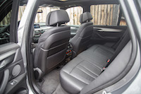 2017 BMW X5 rear seats