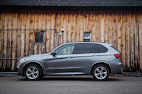 2017 BMW X5 side view suv