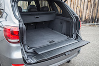 2017 BMW X5 trunk space