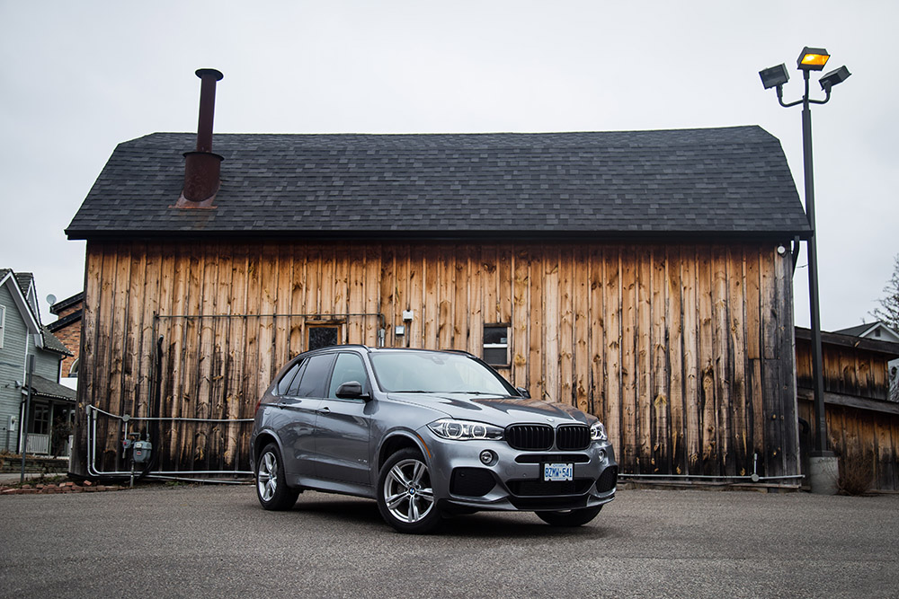 2017 BMW X5 with M Performance Package canada review