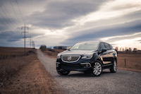 Buick Envision front quarter view
