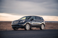Buick Envision compact suv made in china