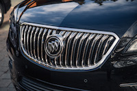 Buick Envision waterfall grill