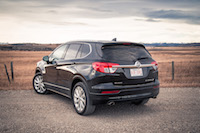2017 Buick Envision rear taillights