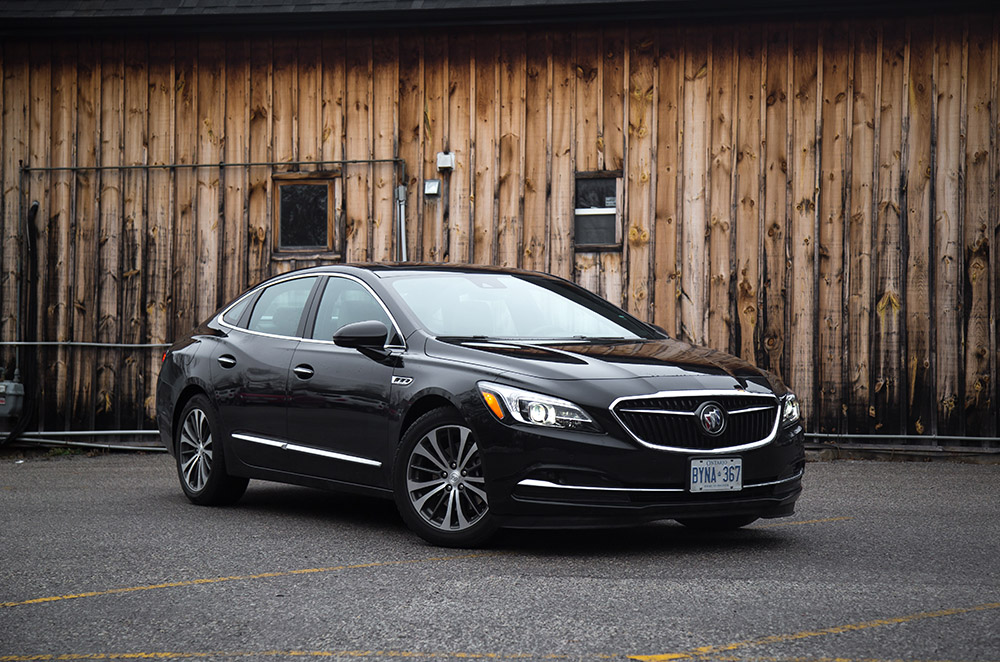 2017 Buick LaCrosse canada review
