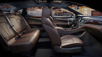 buick lacrosse brown interior
