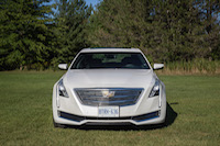 2017 Cadillac CT6 Twin Turbo Platinum front grill