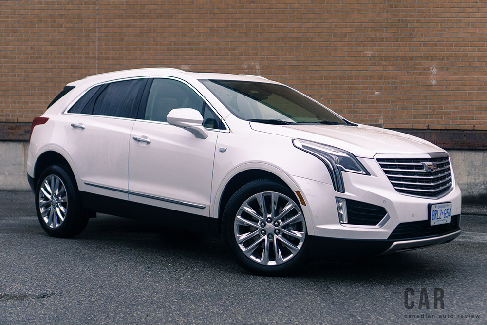 2017 Cadillac XT5 Platinum canada review